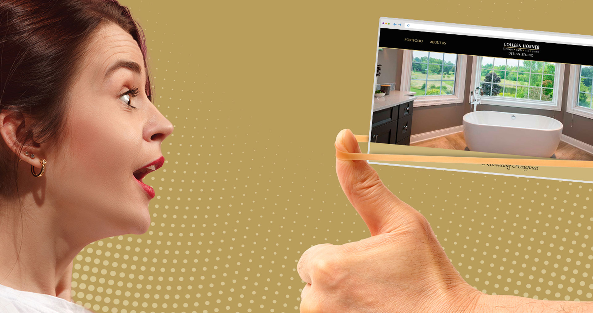 interior design website design Milwaukee