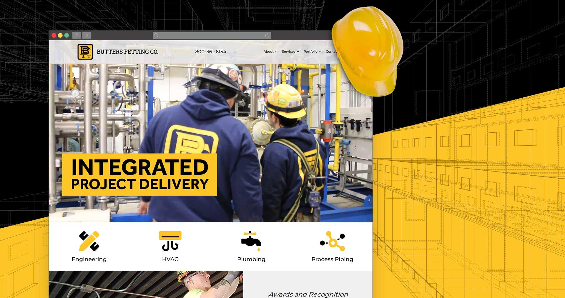 contractor website design Milwaukee